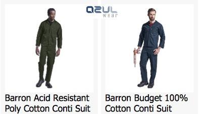 azulwear-cape-town-conti suits acid resistant