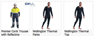 azulwear-cape-town-mens-thermal pants thermal top
